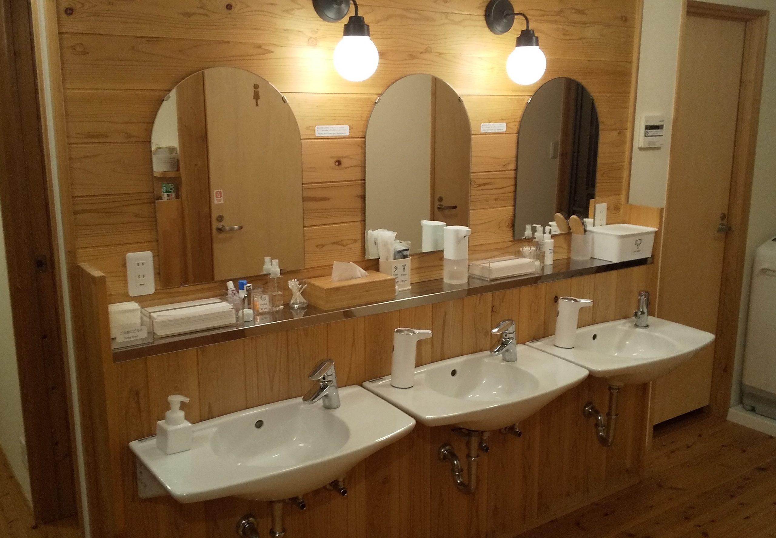 washroom/洗面所